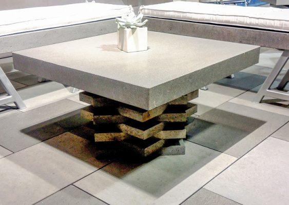 Basalt table